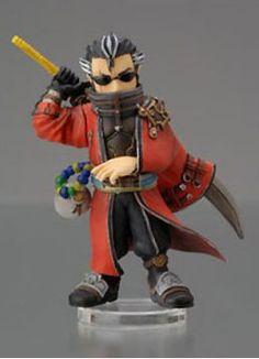 Final Fantasy Trading Arts Mini Vol. 2 - Auron Figure