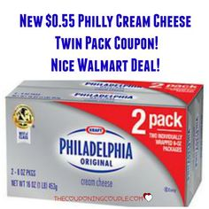 PRINT NOW!! NEW Philadelphia Cream Cheese coupon!! Get a HOT deal at Walmart or use at your favorite store!  Click the link below to get all of the details ► http://www.thecouponingcouple.com/new-philly-cream-cheese-coupon-hot-walmart-deal/  #Coupons #Couponing #CouponCommunity  Visit us at http://www.thecouponingcouple.com for more great posts!