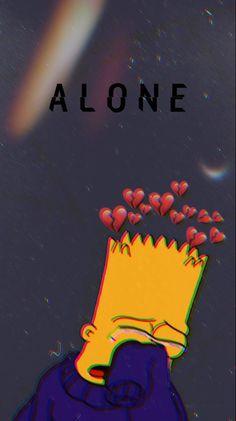 Sad Bart  #Bart #planodefundo #sad