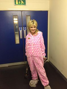 Dancing On Ice Onesie  Anthea Turner  Passionate Pink Star Cuddle Fleece