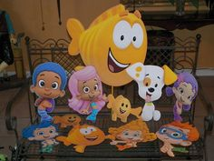 Bubble Guppies Birthday Party Centerpieces. Playpatterns.net