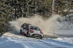 Jari-Matti Latvala is on course for his 17th WRC win, after taking control of Rally Sweden 2017 in the morning hours of Sunday 12 February in his Toyota Yaris. The Finn was fastest on both Sunday morning runs through Likenas, taking 7.1s and 9.1s out of Ott Tanak respectively and extending his lead over the Estonian to 20s.