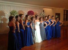 O azul e seus tons podem integrar toda a sua palheta de cores para o casamento. Do convite ao buquê, veja nossas sugestões para um casamento azulzinho!