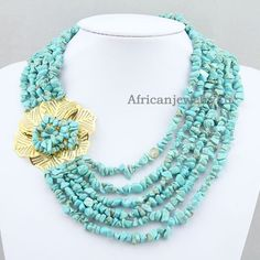 Unique High Quanlity 6 Rows Irregular by Africanjewelry4u on Etsy, $23.70
