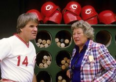 The Hit King with Marge Schott Baseball Movies, Cincinnati Reds Baseball, Pete Rose, American Games, Basketball Pictures, Go Red, Sports Stars, Kentucky, Ohio