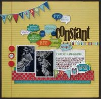 A Project by staceymichu from our Scrapbooking Gallery originally submitted 08/15/11 at 07:48 AM  midterm collection