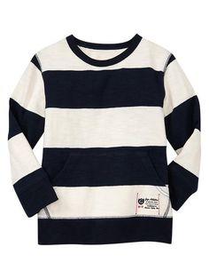 Gap   Striped slub crewneck~For my Boys