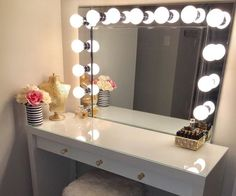 THE VANITY MIRROR!Reason for making this? My wife has been wanting one and (so it fits in our room) it needs to be custom built. Therefore, it was time to put my DIY skills to the test & build her one! I, also, wanted to share my experience with all of you, just to show you that with patience and dedication, something that seems hard to do is actually easy. This job took me about 5 hours but that's because I had to head out a couple of times because of missing stuff and etc.So lets get ri...
