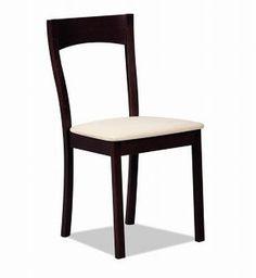 Krzesło CB-91  Cena: 66, 42 zł na ceramika24h.pl, producent Signal. Wymiary krzesła to: wysokość 86 cm, wysokość do siedziska 47 cm, szerokość 45 cm, głębokość 49 cm. Krzesło w kolorze wenge wykonano z drewna i materiałowej tapicerki.