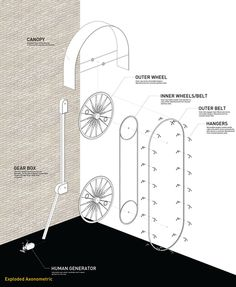 A Bike Rack That Rises in the Sky Like a Ferris Wheel   Co.Design   business + design