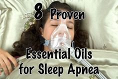 Essential oils for Sleep Apnea include Marjoram, Lavender, Peppermint, Eucalyptus, Roman Chamomile, Thyme, Geranium and Valerian Essential Oils