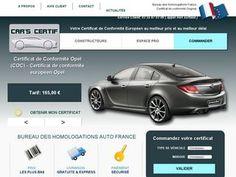 Demande de certificat de conformité européen COC pour constructeur et pour toute marque de voiture : Honda, audi, Vw, bmw, fiat, porsche sur certificatconformite-auto.com.