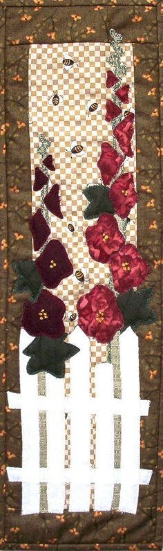 Patch Abilities Inc.  Available at www.patchabilities.com P64 Hollyhocks