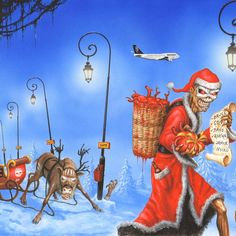 Anything about or related to the metal band Iron Maiden. Discussion, pics, videos, art, you name it. Christmas Wishes, Christmas Cards, Merry Christmas, Christmas Stuff, Vic Rattlehead, Iron Maiden Posters, Eddie The Head, Where Eagles Dare, Rock Y Metal