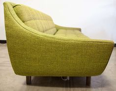 Adrian Pearsall Wood Framed Mid-Century Sofa | From a unique collection of antique and modern sofas at http://www.1stdibs.com/furniture/seating/sofas/