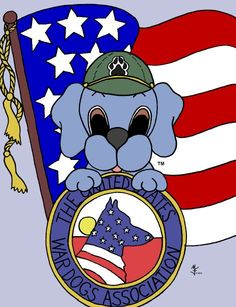 Salute to Veterans - War Dogs! Dreamee Dog thanks veterans who serve and have served in the military. Thank you!