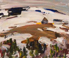 Rene Richard - Winter Landscape x Oil on board Canadian Painters, Winter Landscape, Oil, Board, Painting, Winter Scenery, Painting Art, Paintings, Paint