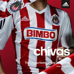 daaacc2c7 A gift from my Brother ) Chivas de Guadalajara adidas Home Jersey