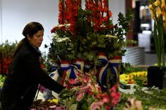 Three tonnes of Fresh Cut, Dutch Flowers are imported annually for the Spruce Meadows 'Masters' Tournament in September
