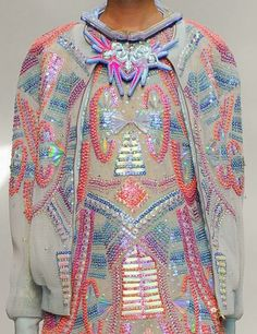 patternprints journal: PRINTS, PATTERNS AND SURFACE EFFECTS: BEAUTIFUL DETAILS FROM PARIS FASHION WEEK (WOMAN COLLECTIONS SPRING/SUMMER 2015) / Manish Arora.
