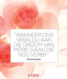 So nice to see Afrikaans again :) Love And Romance Quotes, Great Quotes, Inspirational Quotes, Motivational, Jokes Quotes, Me Quotes, Qoutes, Afrikaanse Quotes, Word Art