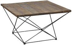 benton reclaimed wood coffee table.