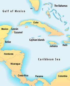 Western Caribbean cruise ports.