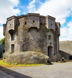 This 12-sided stone structure is part of the fortifications of Castle Athlone, in Ireland. Description from pinterest.com. I searched for this on bing.com/images