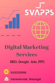 SVAPPS Specializes in Digital Marketing Services & SEO Services For Website in Hanamkonda, We Will Take Your Business To The Top Level With Our Digital Marketing Strategies in India Online Marketing Agency, Seo Agency, Online Advertising, Digital Marketing Services, Content Marketing, Professional Seo Services, Professional Web Design, Best Seo Services, Ios Application Development