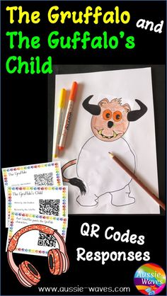 This is a set of printable Reading Responses and activities based on children's fiction books, The Gruffalo and The Gruffalo's Child.