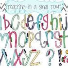 This font set includes 26 hand drawn lowercase letters and 6 punctuation marks.   You may use the font for personal or commercial use on Teachers P...