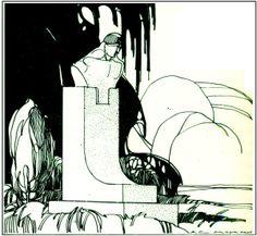 Desenhos de ANTONIO MOYA apresentados na Semana de Arte Moderna de 1922