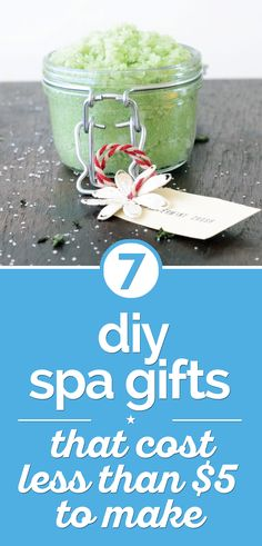 7 DIY Spa Gifts That Cost Less that $5 To Make - thegoodstuff