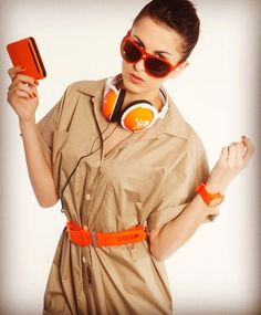 Just a splash of orange. #skimp  #color #welovecolor #fashion #belts #belt #watch #orange #style #cool #trendy #sports