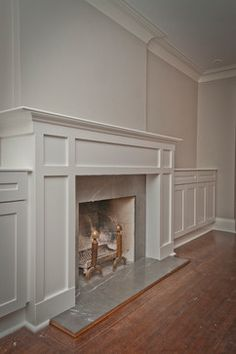 North Forest Hill mantle with storage - traditional - family room - toronto - Seva Rybkine