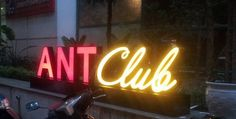 Ant, Neon Signs, Club, Shop, Ants, Store