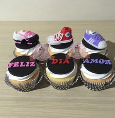 Cupcakes tenis. Cupcakes zapatillas. Cupcakes zapatillas adidas. Cupcakes zapatillas converse. Cupcakes zapatillas nike