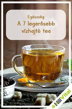 A 7 legerősebb vízhajtó tea