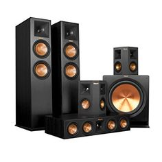 Klipsch RP280F Home Theater System Bundle Ebony with Yamaha RXA1050 ** Check this awesome product by going to the link at the image.