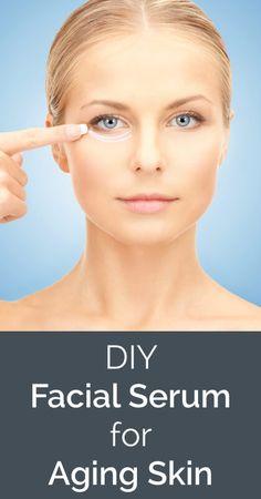 Non-Toxic DIY Facial Serum for Aging Skin - www.ohlardy.com