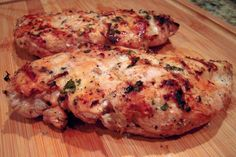 Sundried Tomato Grilled Chicken