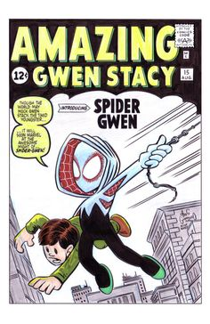 AMAZING FANTASY #15 Gwen Stacy tribute by Chris G