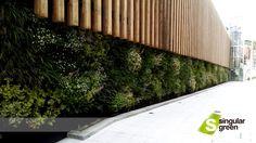 Jardín vertical en Bilbao
