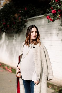 12 Classic Splurge-Worthy Knits - Cheetah is the New Black Fall Maternity Outfits, Maternity Clothing, Maternity Style, Mom Outfits, Maternity Fashion, Fashion Outfits, Spring Fashion, Winter Fashion, Pregnancy Fashion