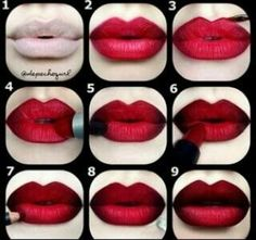 29 #Lovely Lipstick Tutorials to Spice up Your #Makeup ...