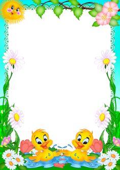 웃♥ ♥ ♥ ♥ ♥ ♥ 웃♥ ♥ ♥ ♥ ♥ ♥ 웃 Boarder Designs, Page Borders Design, Printable Border, Boarders And Frames, School Frame, Kids Background, Borders For Paper, Paper Frames, Floral Border