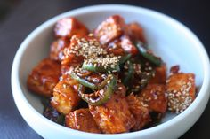 Week of Menus: Korean Spicy Quick Braised Tofu: Cooking with a friend challenge
