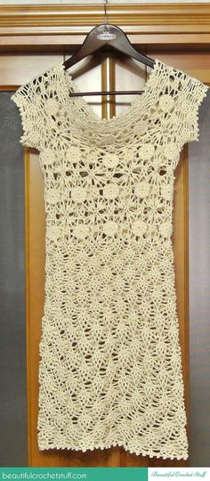 White Lace Dress Photo Tutorial + Diagrams