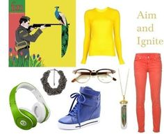 Fun. Aim and Ignite album outfit. That gives me an idea