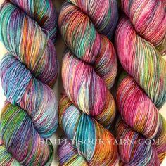 Simply Socks Yarn Company - CCR Assockilate Bangarang, $23.00 (http://www.simplysockyarn.com/ccr-assockilate-bangarang/)